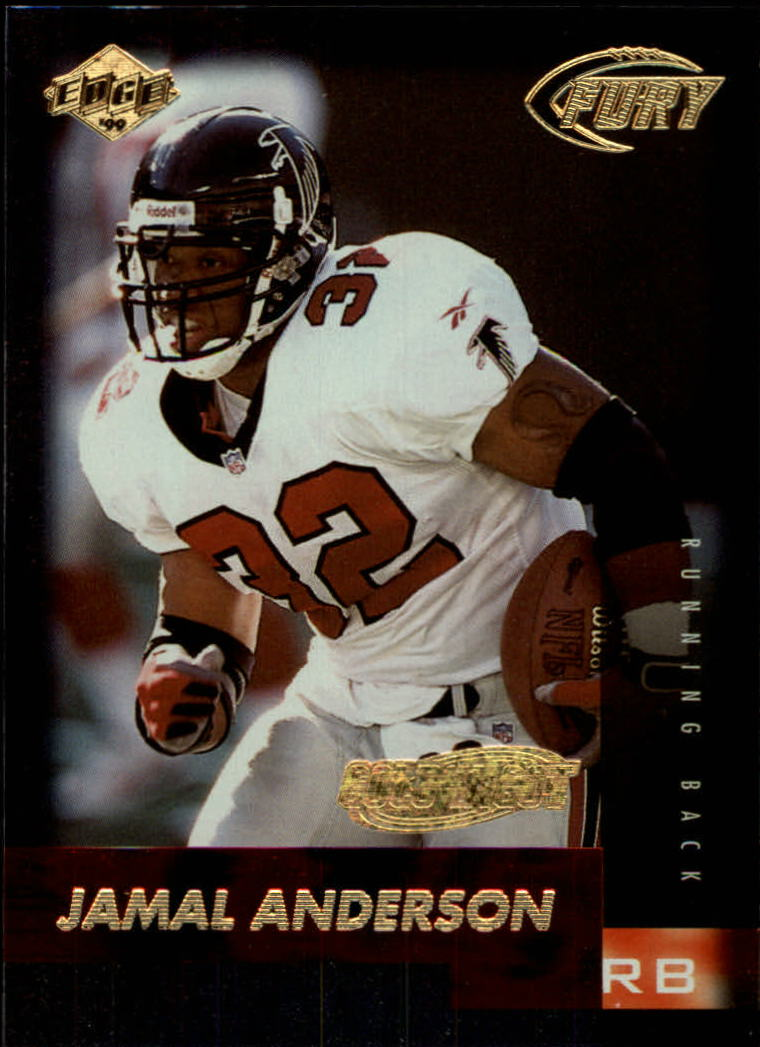 1999 Collector's Edge Fury Gold Ingot #7 Jamal Anderson