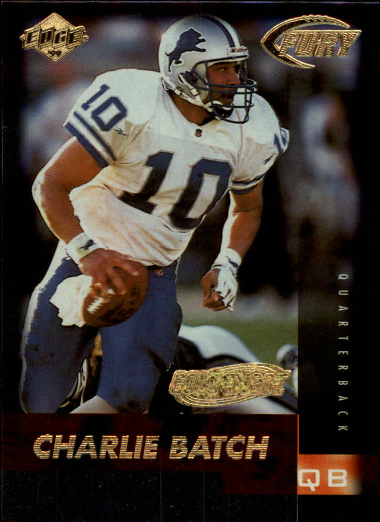 1999 Collector's Edge Fury Gold Ingot #10 Charlie Batch