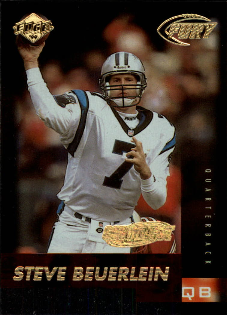 1999 Collector's Edge Fury Gold Ingot #13 Steve Beuerlein
