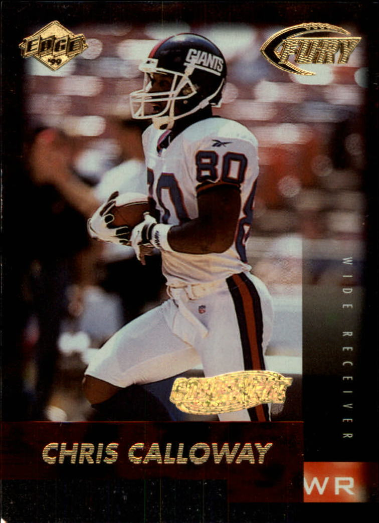 1999 Collector's Edge Fury Gold Ingot #23 Chris Calloway