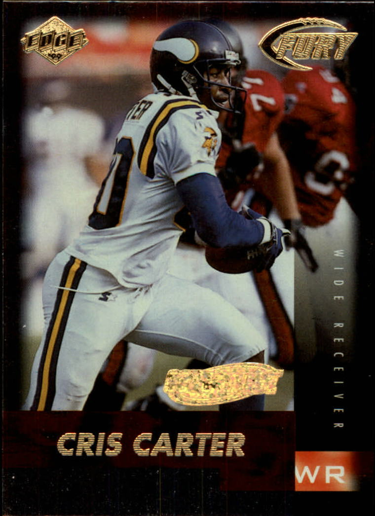 1999 Collector's Edge Fury Gold Ingot #24 Cris Carter