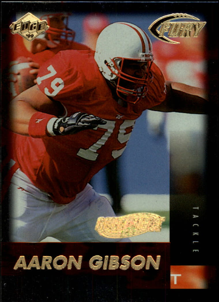 1999 Collector's Edge Fury Gold Ingot #168 Aaron Gibson