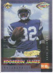 1999 Collector's Edge Fury Gold Ingot #173 Edgerrin James