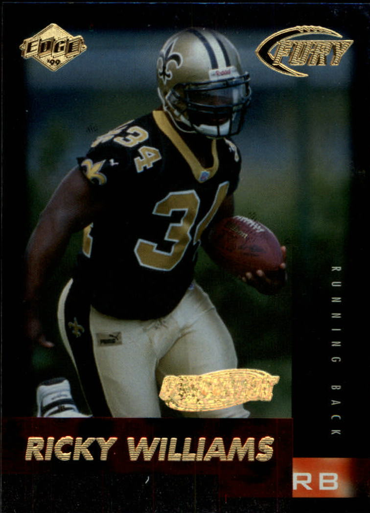 1999 Collector's Edge Fury Gold Ingot #196 Ricky Williams
