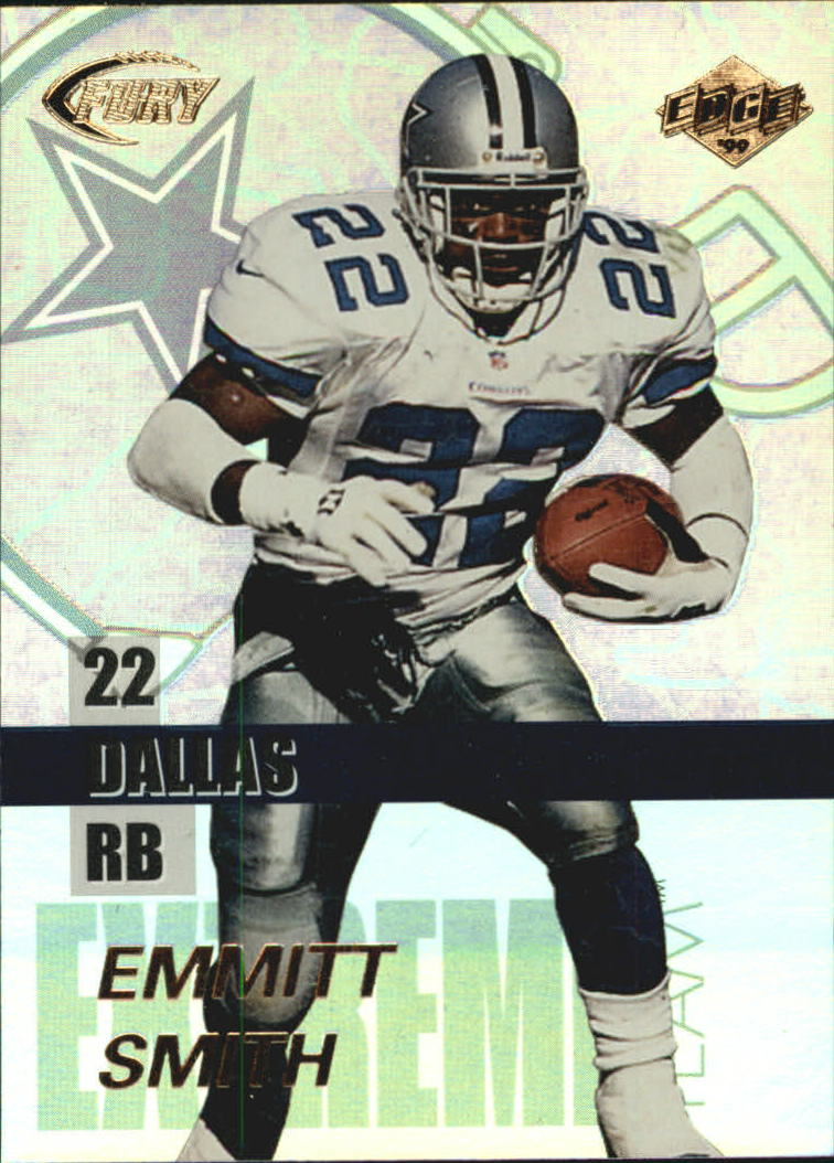 1999 Collector's Edge Fury Extreme Team #E2 Emmitt Smith