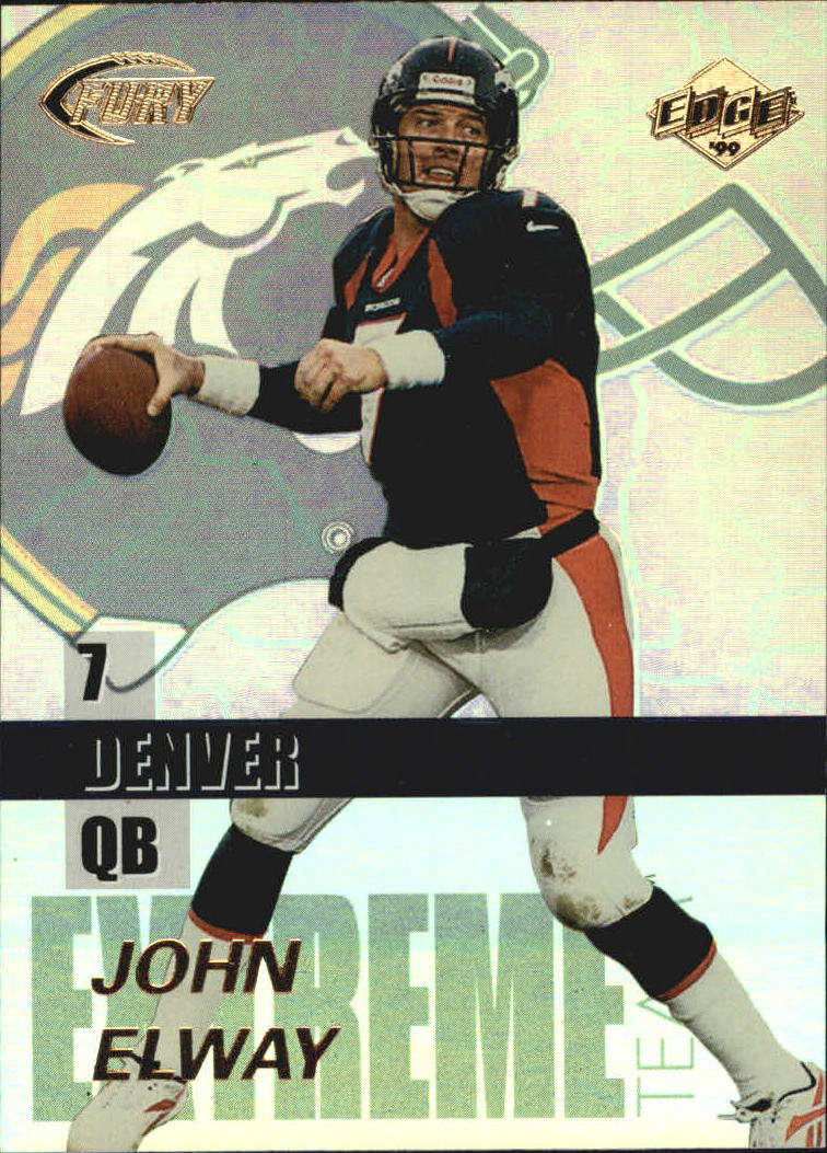1999 Collector's Edge Fury Extreme Team #E3 John Elway