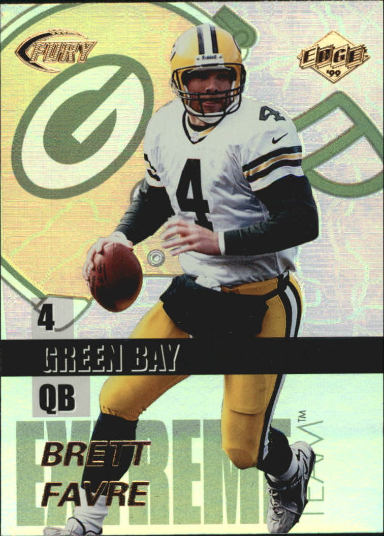 1999 Collector's Edge Fury Extreme Team #E6 Brett Favre