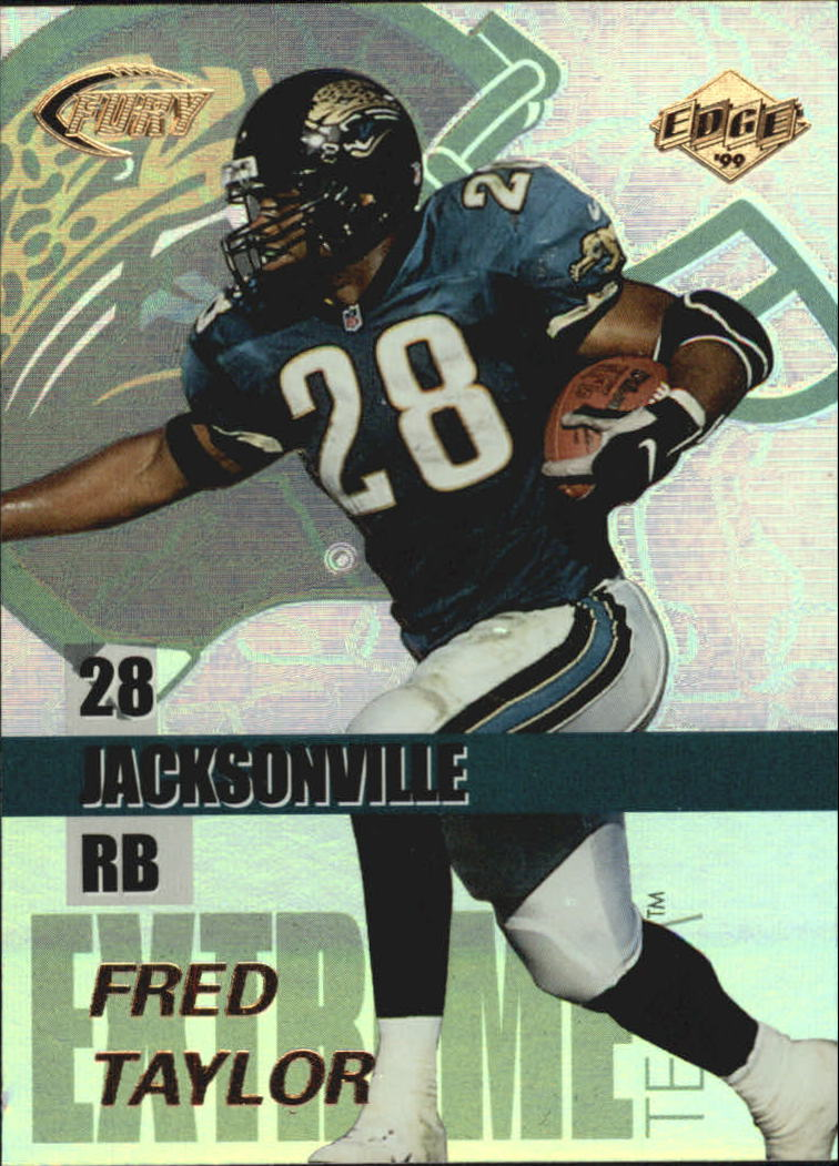 1999 Collector's Edge Fury Extreme Team #E8 Fred Taylor