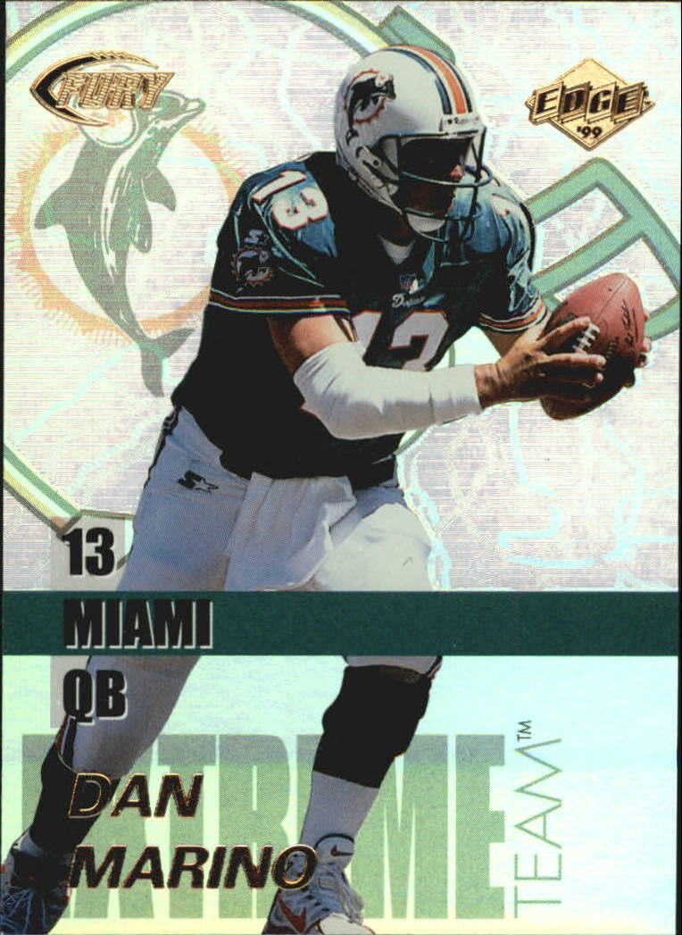 1999 Collector's Edge Fury Extreme Team #E9 Dan Marino