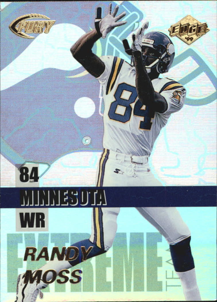 1999 Collector's Edge Fury Extreme Team #E10 Randy Moss