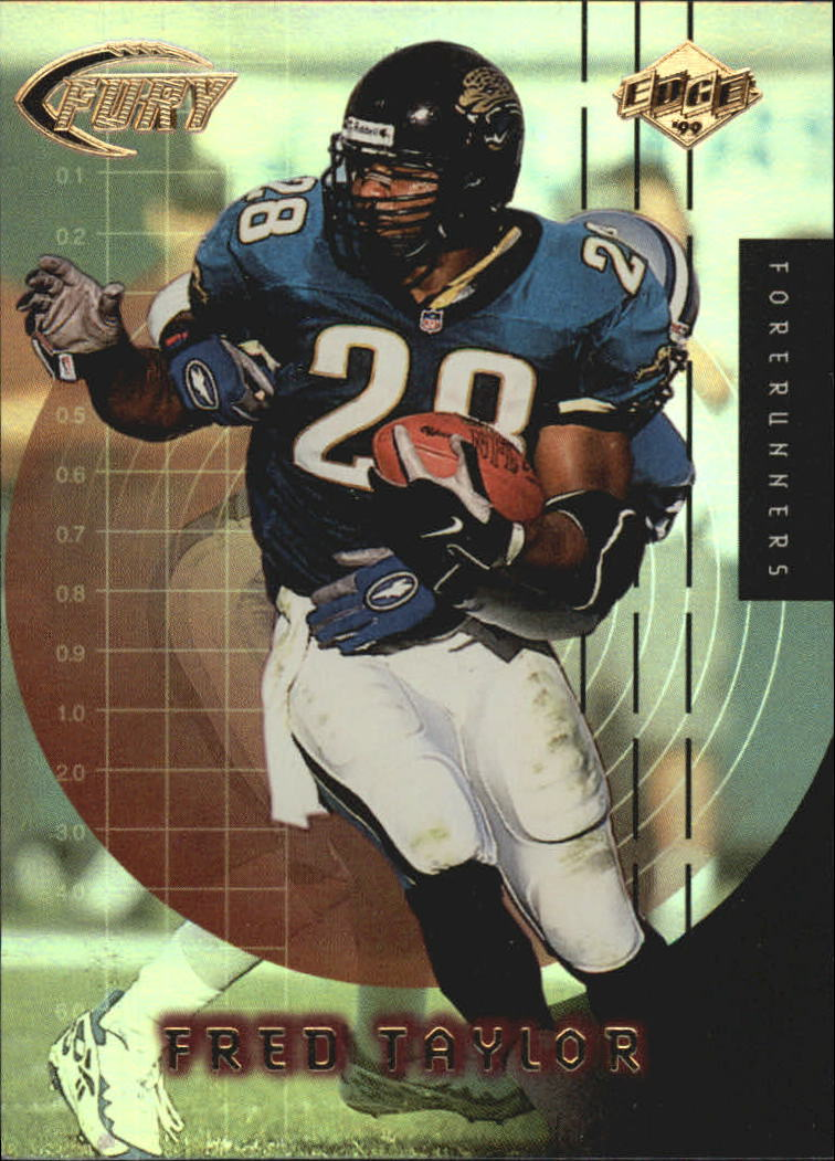 1999 Collector's Edge Fury Forerunners #F8 Fred Taylor