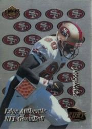 1999 Collector's Edge Fury Game Ball #JR Jerry Rice