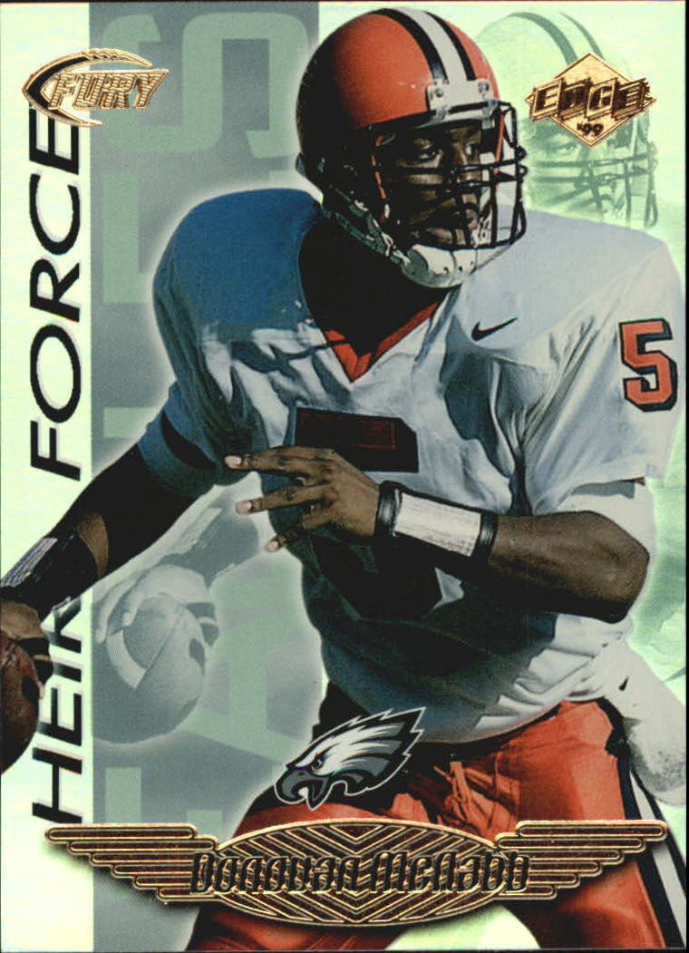 1999 Collector's Edge Fury Heir Force #HF16 Donovan McNabb front image