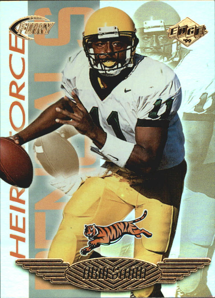 1999 Collector's Edge Fury Heir Force #HF19 Akili Smith