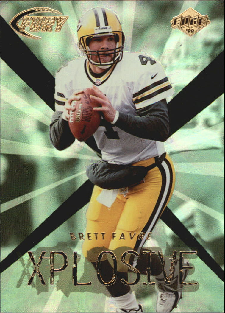 1999 Collector's Edge Fury Xplosive #8 Brett Favre