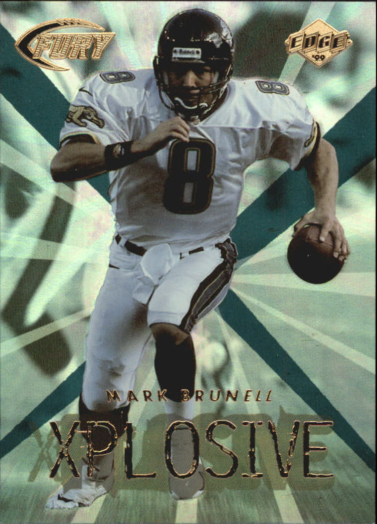 1999 Collector's Edge Fury Xplosive #11 Mark Brunell