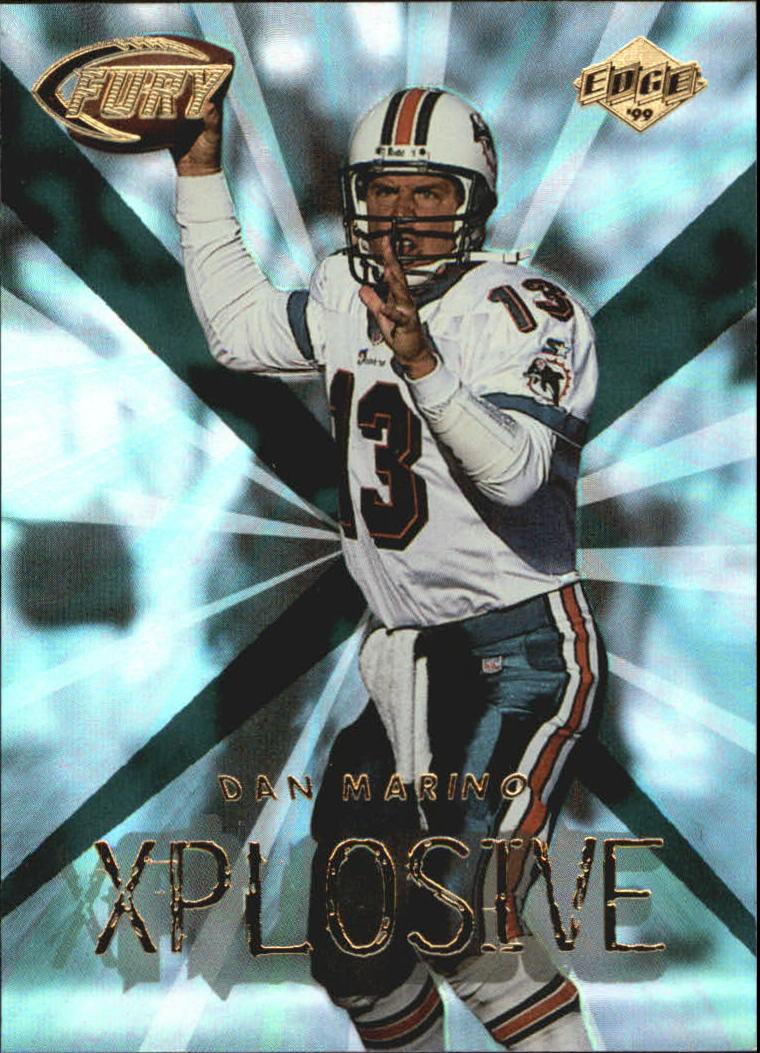 1999 Collector's Edge Fury Xplosive #12 Dan Marino