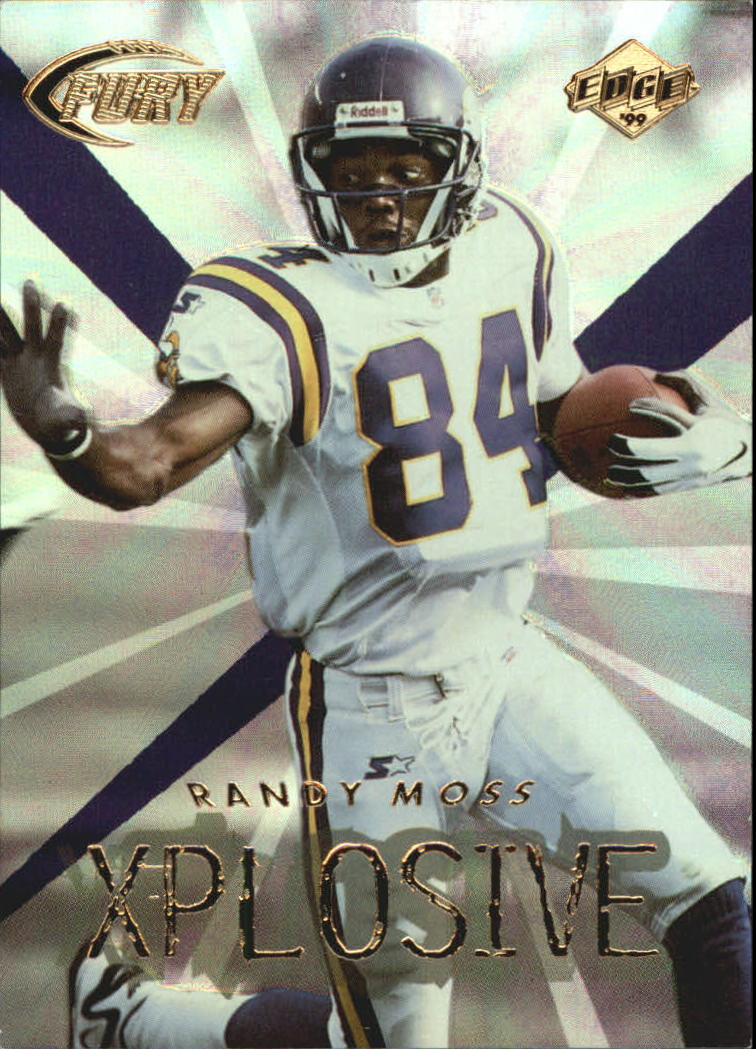1999 Collector's Edge Fury Xplosive #13 Randy Moss