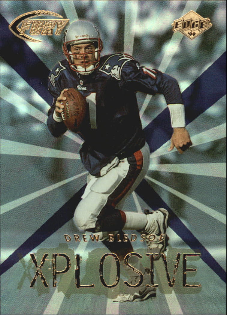 1999 Collector's Edge Fury Xplosive #14 Drew Bledsoe
