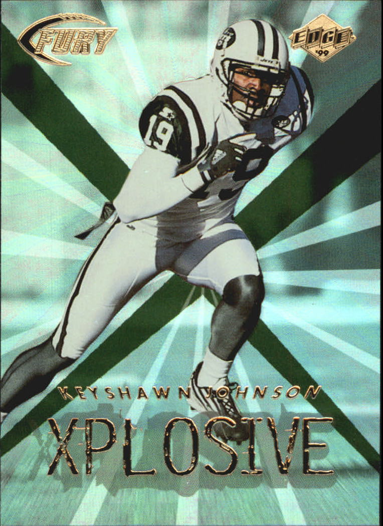 1999 Collector's Edge Fury Xplosive #15 Keyshawn Johnson