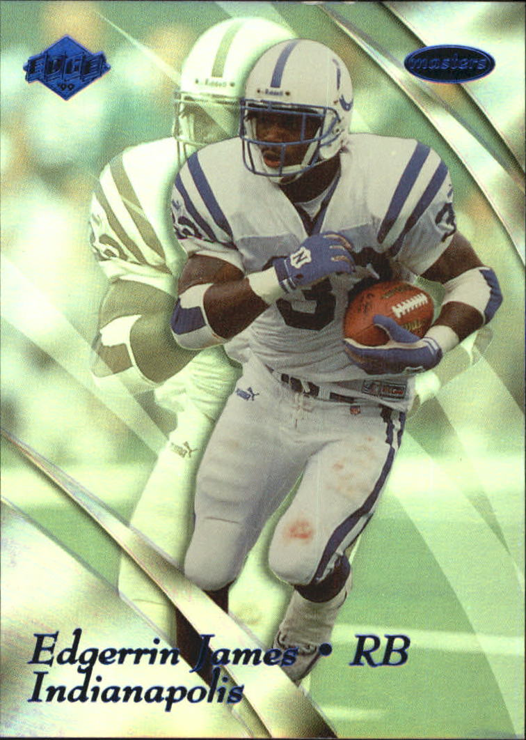 1999 Collector's Edge Masters #86 Edgerrin James RC