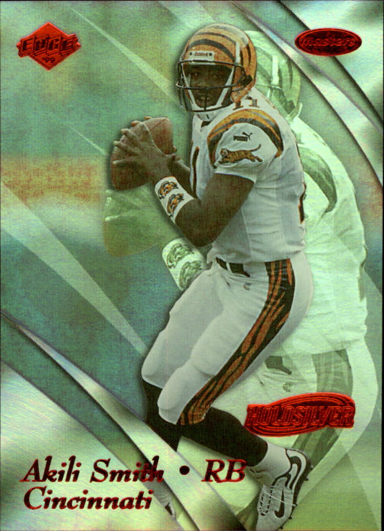 1999 Collector's Edge Masters HoloSilver #44 Akili Smith