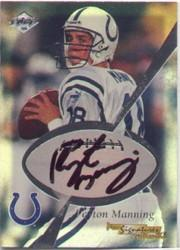 1999 Collector's Edge Masters Pro Signature Authentics #1B Peyton Manning/445