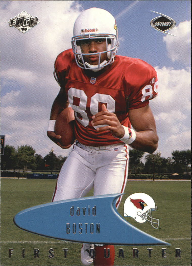 1999 Collector's Edge Odyssey #3 David Boston RC