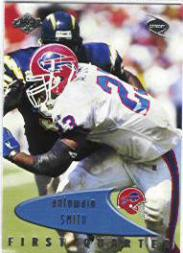 1999 Collector's Edge Odyssey #22 Antowain Smith