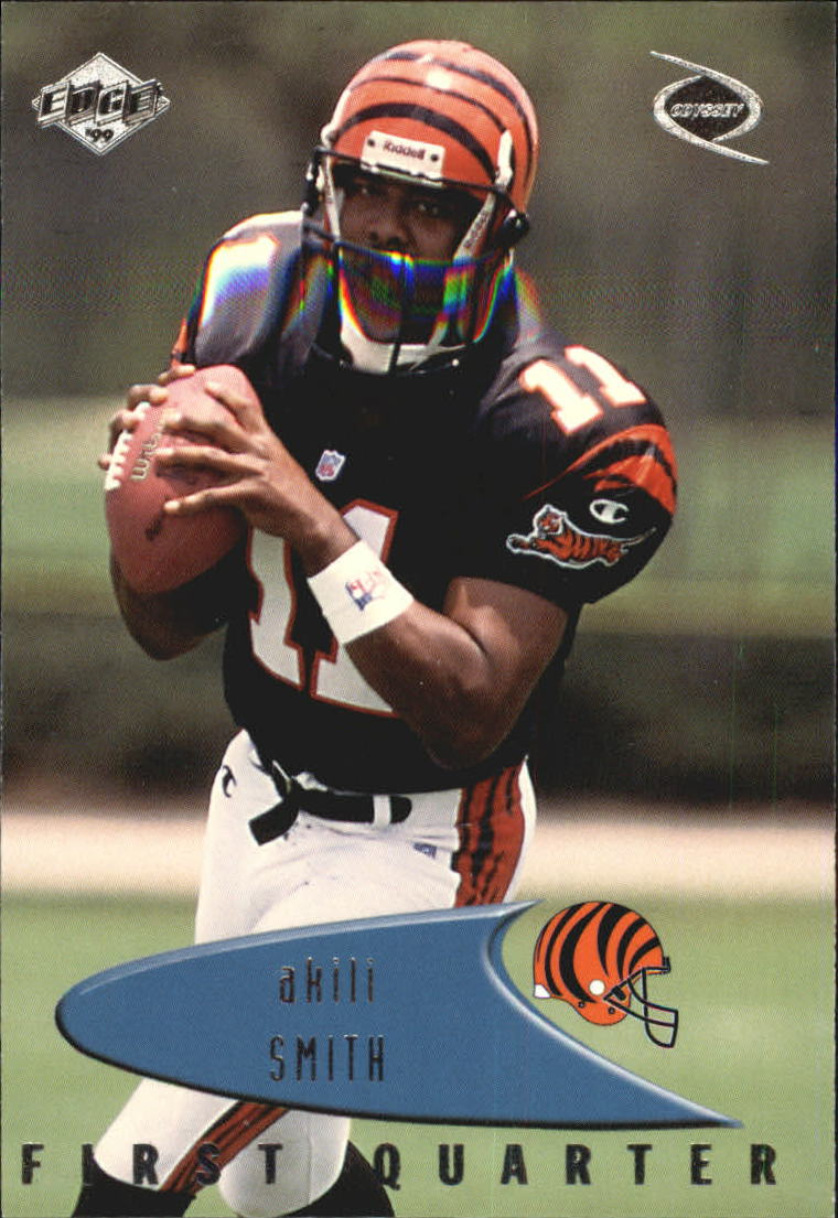 1999 Collector's Edge Odyssey #37 Akili Smith RC