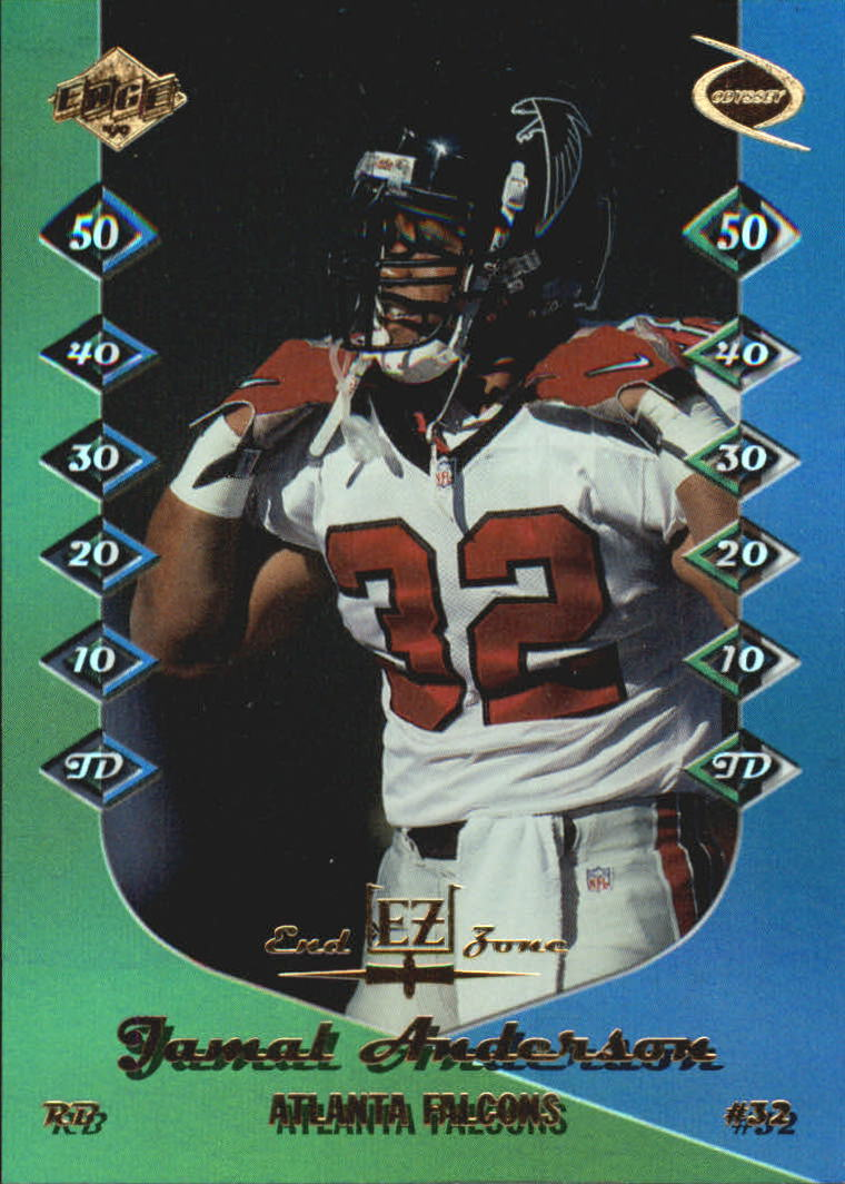 1999 Collector's Edge Odyssey End Zone #EZ1 Jamal Anderson