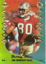 1999 Collector's Edge Odyssey End Zone #EZ15 Jerry Rice