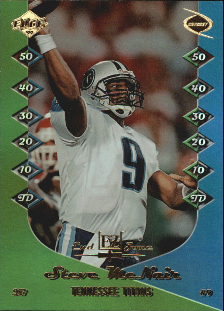 1999 Collector's Edge Odyssey End Zone #EZ20 Steve McNair
