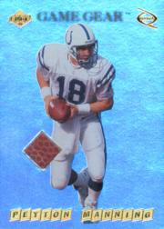 1999 Collector's Edge Odyssey GameGear #PM Peyton Manning