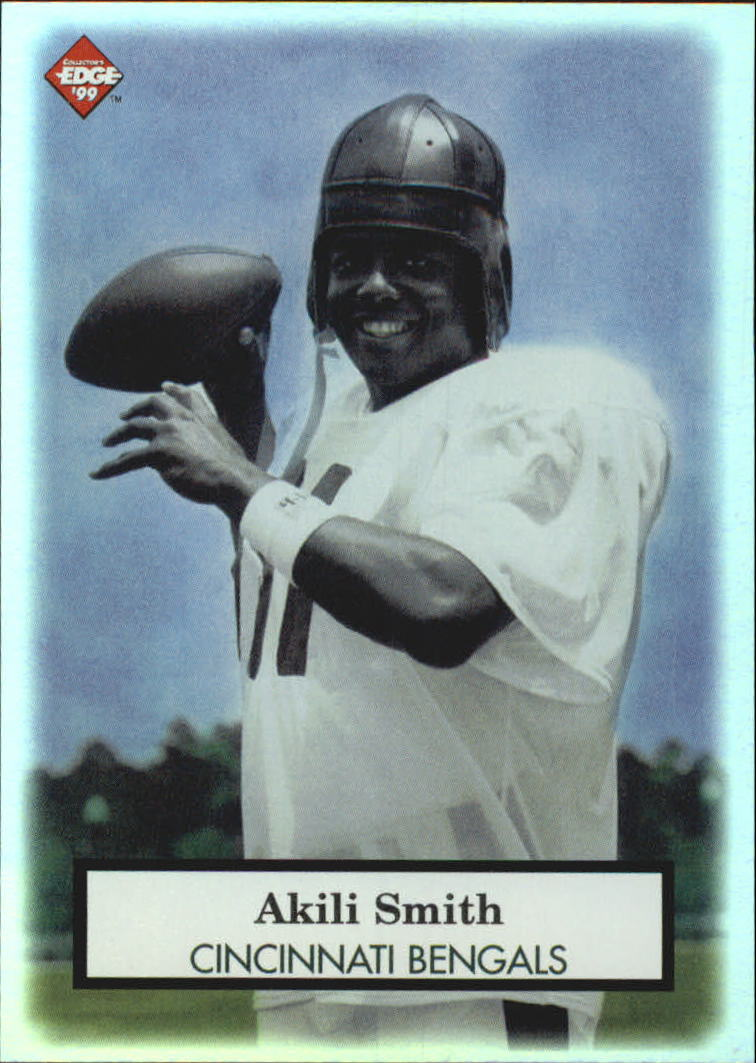 1999 Collector's Edge Odyssey Old School #OS6 Akili Smith