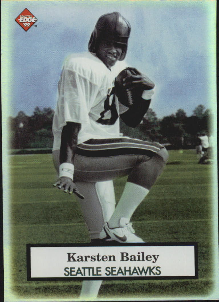 1999 Collector's Edge Odyssey Old School #OS22 Karsten Bailey