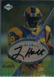 1999 Collector's Edge Odyssey Pro Signature Authentics #8 Torry Holt/1115