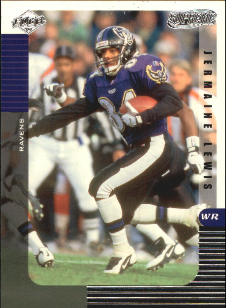 1999 Collector's Edge Supreme #13 Jermaine Lewis