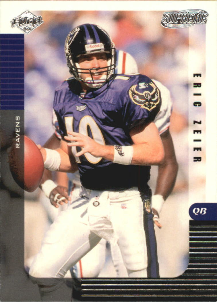 1999 Collector's Edge Supreme #14 Eric Zeier