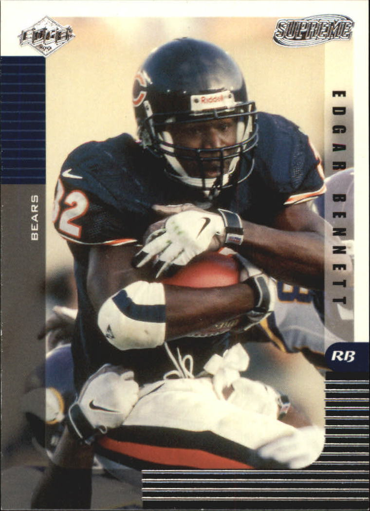1999 Collector's Edge Supreme #23 Edgar Bennett