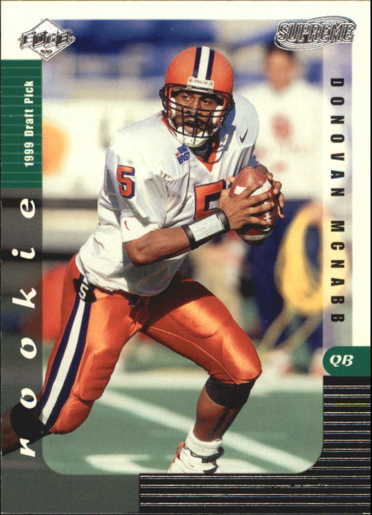 1999 Collector's Edge Supreme #161 Donovan McNabb RC