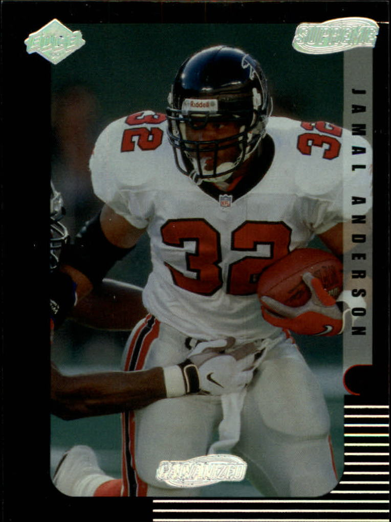 1999 Collector's Edge Supreme Galvanized #7 Jamal Anderson