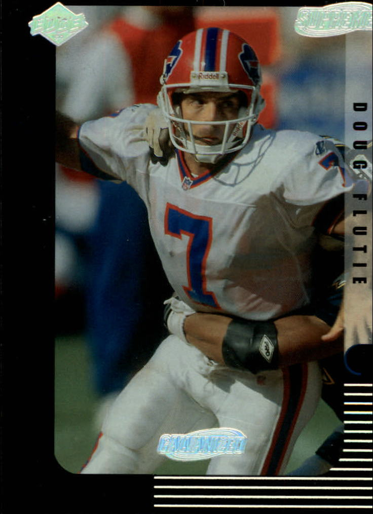 1999 Collector's Edge Supreme Galvanized #15 Doug Flutie