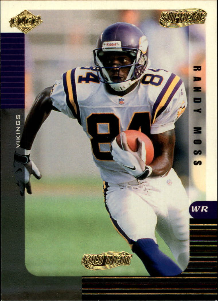 1999 Collector's Edge Supreme Gold Ingot #71 Randy Moss