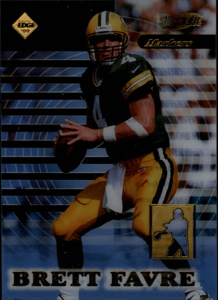 1999 Collector's Edge Supreme Markers #M10 Brett Favre