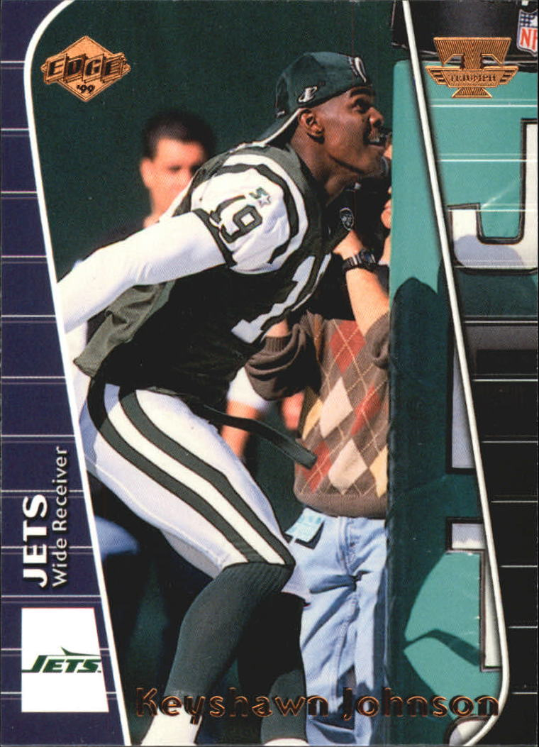 1999 Collector's Edge Triumph #40 Keyshawn Johnson