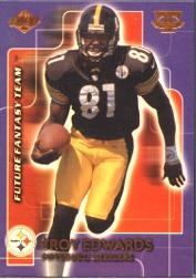 1999 Collector's Edge Triumph Future Fantasy Team #FFT6 Troy Edwards