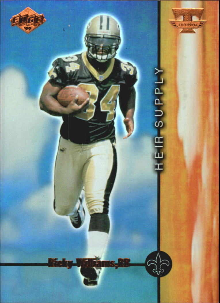 1999 Collector's Edge Triumph Heir Supply #HS1 Ricky Williams