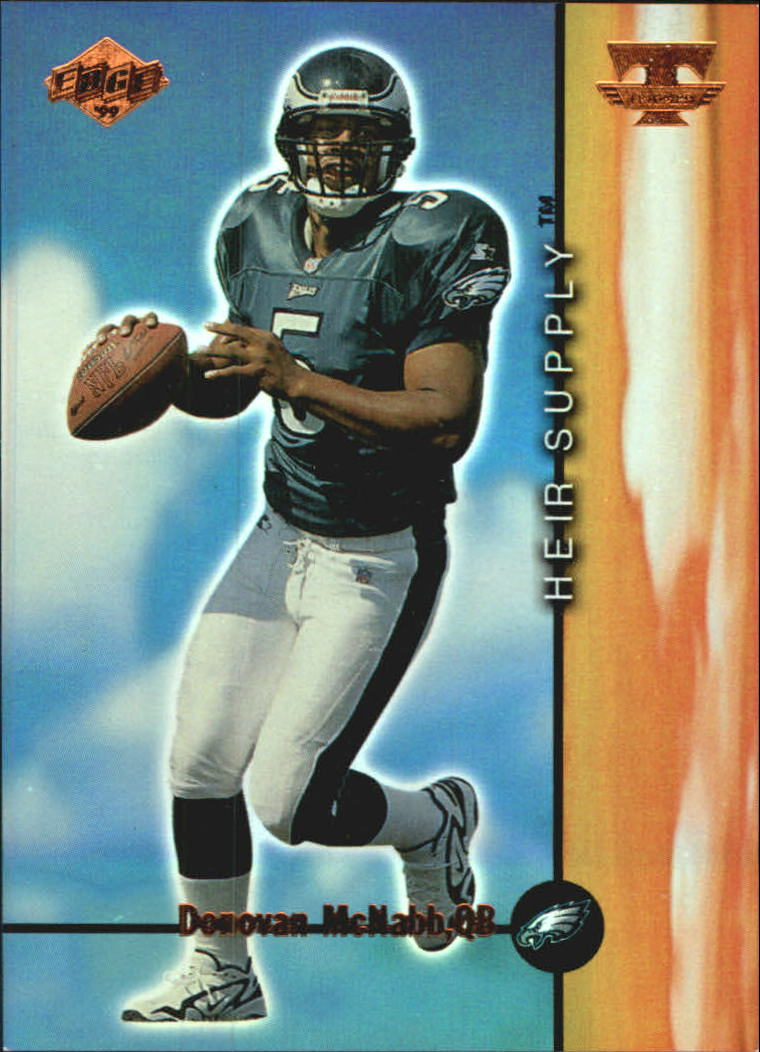 1999 Collector's Edge Triumph Heir Supply #HS4 Donovan McNabb