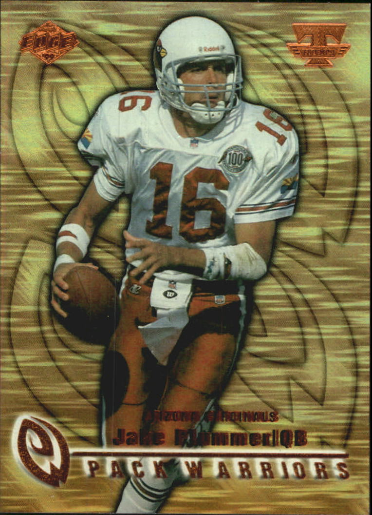 1999 Collector's Edge Triumph Pack Warriors #PW2 Jake Plummer